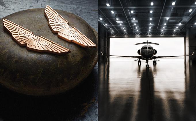 Bombardier and Aston Martin