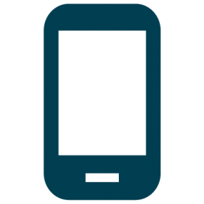 Icon depicting a mobile phone